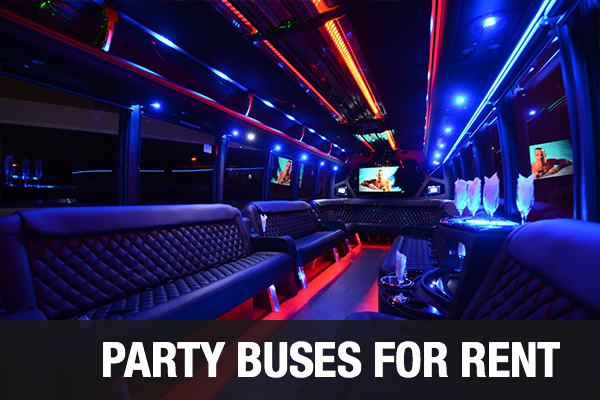 Party Buses For Rent Los Angeles