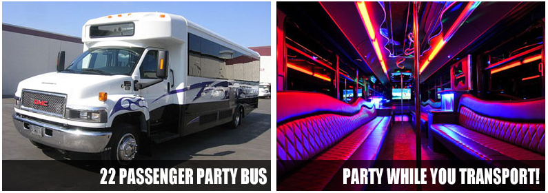 Airport Transportation Party Bus Rentals Los Angeles