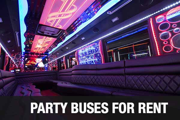 Wedding Transportation Party Bus Los Angeles