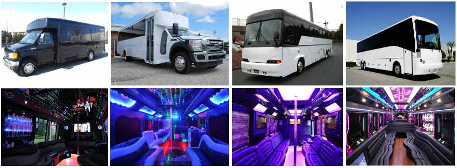 Wedding Transportation Party Buses Los Angeles
