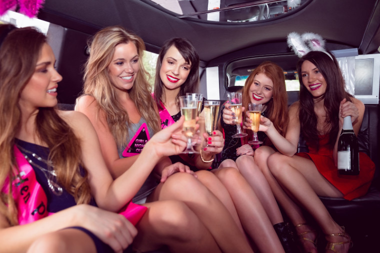 Bachelorette Party Bus Limo Los Angeles